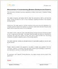 partnership agreement mou templates best resumes curiculum vitae