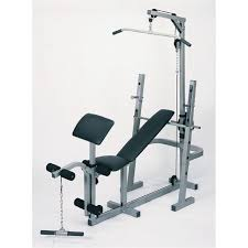 impex fitness manual powerhouse home gym weight bench with