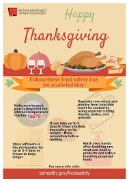 keep your thanksgiving feast safe az dept of health services