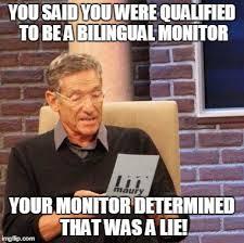 Meme Monitor - maury lie detector meme imgflip
