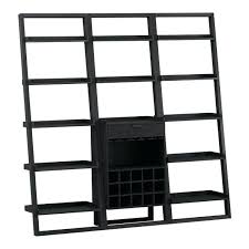 Easy Crate Leaning Shelf And by White Leaning Bookcase Sloane Leaning Bookcase Fascinating Large
