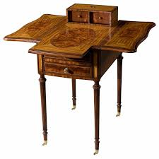 Chinoiserie Secretary Desk by A Harlequin Table Lamp Side Tables From Brights Of Nettlebed