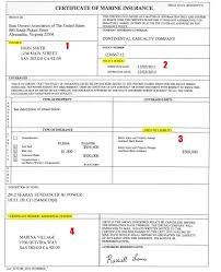 Sample Resume Declaration Format by Car Insurance Certificate Template Contegri Com