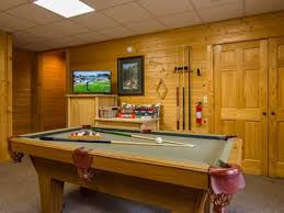 Professional Pool Table Size by Charming Secluded Log Cabin Close To The Gr Vrbo
