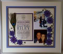 wedding gift keepsakes quilled wedding collage heirloom keepsake handmade framed wedding