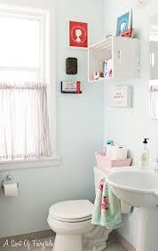blue paint colors in cottage bathroom behr cloud burst