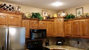 should i decorate on top of my kitchen cabinets my husband and i had a great time decorating above the