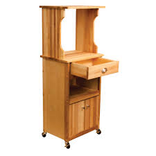 catskill craftsmen hutch top cart with open storage model 51570