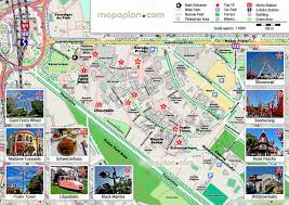 Portland Streetcar Map by Vienna Maps Top Tourist Attractions Free Printable City U2013 Vienna