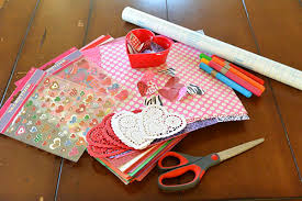 Easy Arts And Crafts For Kids With Paper - diy placemats easy valentines day craft for kids living locurto