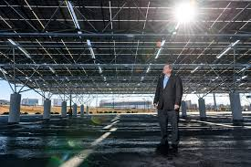 Solar Canopy by News Quest Renewables