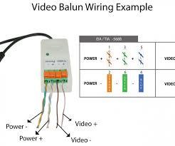 fascinating cat 5 wiring diagram b contemporary schematic in cctv