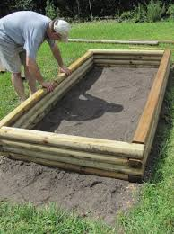 How To Build A Raised Flower Bed Chic Timber For Raised Garden Beds How To Build A Raised Garden