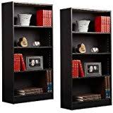 baxton studio lindo bookcase single pull out shelving cabinet amazon com baxton studio lindo pull out door bookcase in dark brown