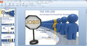 animated powerpoint templates for employee recognition and job