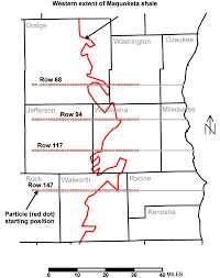 Kenosha Map Usgs Ground Water In The Great Lakes Basin The Case Of