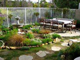 Cheap Landscaping Ideas For Backyard by Small Front Garden Ideas Houzz Backyards Desert Landscaping For