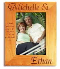 Personalized Wedding Photo Frame Engraved Picture Frame