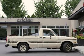 mazda truck old parked cars 1984 mazda b2000 se 5