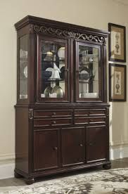 Hutch Furniture Dining Room Dining Room Dark Wood Buffet With Large White Buffet Cabinet