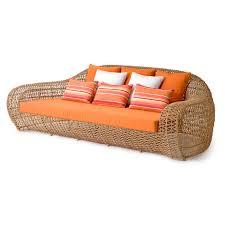 Rattan Sleeper Sofa by Balou Ke Zu Furniture Residential And Contract Furniture