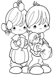 precious moments happy coloring pages couples