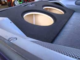 camaro speaker box zenclosures com 1993 2003 camaro firebird trans am subwoofer