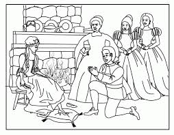 cinderella and prince charming coloring pages night for romance