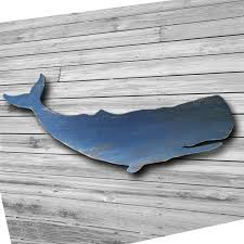 beautiful looking wooden whale wall wood painted whales set