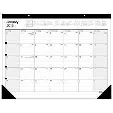 office depot desk mat amazon com office depot r brand large monthly desk pad calendar