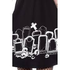 Grave Digger Halloween Costume Sourpuss Grave Digger Rosie Dress Black