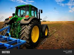 tractor modern farm equipment image u0026 photo bigstock