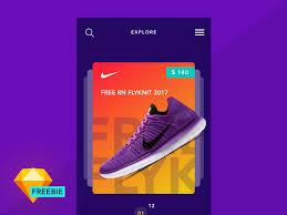 ecommerce app screen tutorial free sketch freebie supply