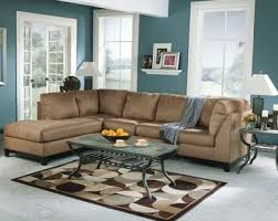 brown and blue living room blue grey paint color home interiors