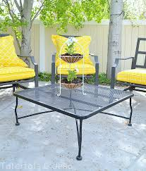 How To Spray Paint Patio Furniture Easy Outdoor Diy How To Spray Paint Resin Pots Tatertots And Jello