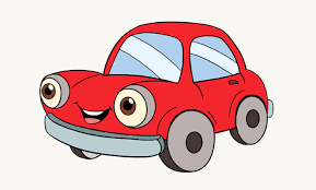 draw cartoon car easy step step drawing guides