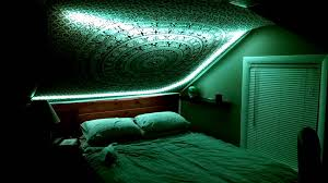 Bedroom Led Lights by Trippy Bedroom Led Lights Featuring Shpongle Youtube