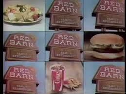 Red Barn Restaurant 1979 Red Barn Restaurant Commercial Youtube