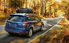 brown subaru forester 2016 subaru forester gets starlink safety system and other