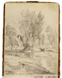 a sketchbook by john constable victoria and albert museum
