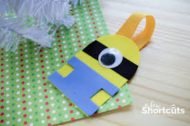 diy minion ornament craft despicable me 3 on