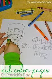 color pages for st patrick u0027s day