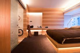 Open Space Bedroom Design Contemporary Apartment With An Open Space Designed By Fixonic
