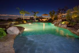 Outside Pool Pool Lighting To Transform Any Swimming Pool Dreamscapes