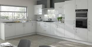 Black Gloss Kitchen Cabinets Gloss White Kitchen Cabinet Doors Kitchen And Decor