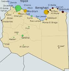 Timeline Maps Timeline Of The 2011 Libyan Civil War Before Military Intervention