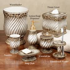 Bathroom Apothecary Jar Ideas by Gold Bathroom Accessories Bathroom Decor