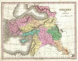 Map Iraq File 1827 Finley Map Of Turkey In Asia Iraq And Israel