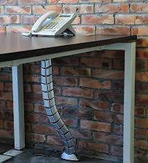 Wire Computer Desk How To Deal With Cables And Wires Computer Table Pinterest