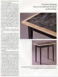 Side Table Plans Simple Side Table Plans U2022 Woodarchivist